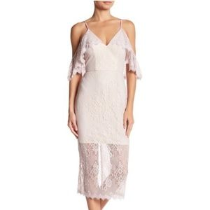 ABS by Allen Schwartz Lace Cocktail Dress